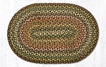Fir/Ivory Braided Rug 20