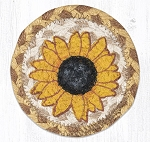 Sunflower Coaster Braided Rug 5