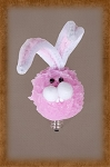 Pink Bunny Furry Friend SIlicone Bulb