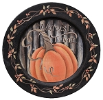 Harvest Time Plate