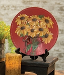 Simply Enjoy Plate Sunflowers