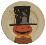 Halloween Scene Decorative Plate