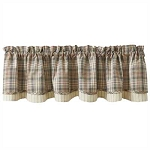 Gentry Lined Layered Valance