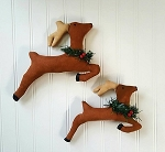 Handmade Reindeer Set of 2
