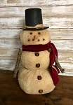 Handmade Snowman with Top Hat 17