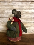 Handmade Holiday Mouse in Sweater 14