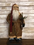 ***JUST ARRIVED*** 2018 Handmade Arnetts Santa with Tree