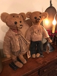 Ben Handmade Weathered Collection Primitive Bear 16