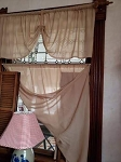 Tobacco Cloth Valences and Panel Curtains Handmade Primitive