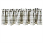 Lake Livin' Lined Layered Valance