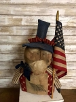 Handmade Uncle Sam Doll 17