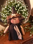 Handmade Baby Witch Doll 12