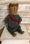 Handmade Sitting Lady Liberty Doll