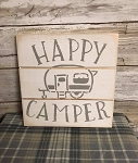 Happy Camper Handmade Farmhouse Style Sign 6