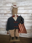 Handmade Uncle Sam Doll 27