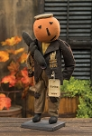 Norman Pumpkin Doll