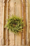 White Spruce Wreath with Cones | 17