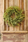 White Spruce Wreath with Cones | 22