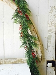 Red Cedar & Berries Garland | 6'