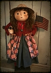 Americana Mama with Flag Skirt **Pre-Order**