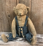 Arnett's 2018 Handmade Bear Lincoln in Overalls