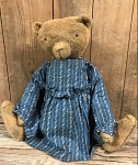 2018 Handmade Arnett's Bear Bella with Blue Dress
