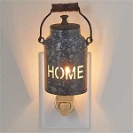 Home Milk Can Night Light