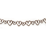 Grapevine Garland - Heart - Brown - 5 feet