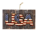 USA Wall Sign: 9.75 x 5.87 inches