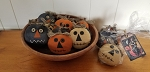 Halloween Pumpkin Set Bowl Fillers Handmade