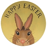 Happy Easter Bunny Plate