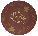 Bless Our Family Plate