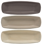 Squared Oval Tray- Stoneware Colors