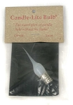 3 Watt Small Candle-Lite Light Tiny Tim Silicone Bulb