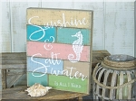 Salt Water Pallet Sign