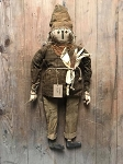 Chester Handmade Scarecrow Doll by Olde Time Santas