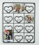 Heart Wall Photo Holder