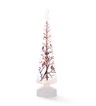 LED Cardinal Christmas Tree Battery Operated