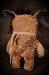 Handmade Perfectly Prim Rag Filled Rabbit 11