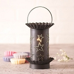 Tart Wax Warmer with Country Star in Kettle Black