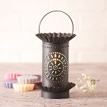 Tart Wax Warmer with Chisel in Kettle Black