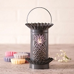 Tart Wax Warmer with Pineapple in Country Tin