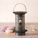 Tart Wax Warmer with Regular Star in Country Tin