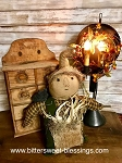 Handmade Scarecrow Doll with Crow 15