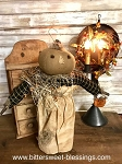 Handmade Pumpkin Doll with Pumpkin Bag 18