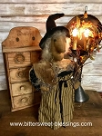 Handmade Witch Doll with Spell Book 20