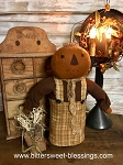 Handmade Pumpkin Doll with Paper Bag 18