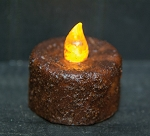 Timer Tealight - Burnt Mustard