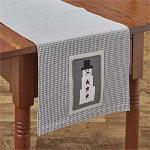 Holiday Snowman Table Runner - 42