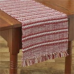 Peppermint Stripe Table Runner - 36